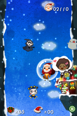 Screenshot Crazy Santa