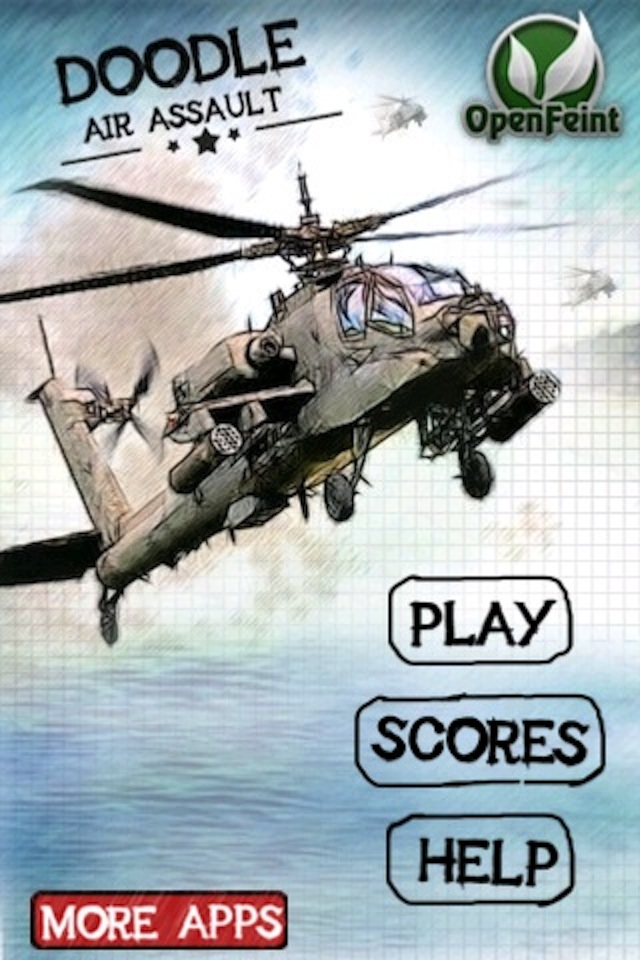 Screenshot Doodle Air Assault ( Shooting and Racing Game )