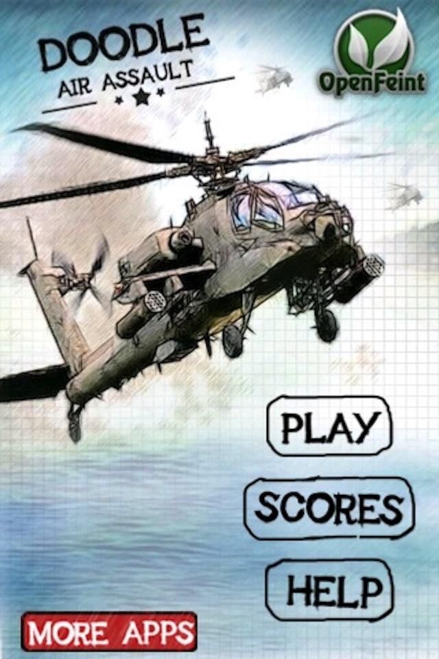 Screenshot Doodle Air Assault ( Shooting and Racing Game )